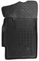 Коврик в салон водительский для Ravon R2 '15- резиновый, черный (AVTO-Gumm)