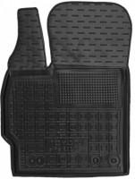 Коврик в салон водительский для Toyota Prius '09-15 резиновый, черный (AVTO-Gumm)