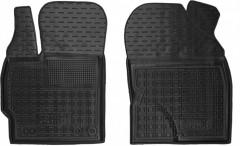 Коврики в салон передние для Toyota Prius '09-15 резиновые, черные (AVTO-Gumm)