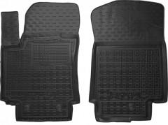 Коврики в салон передние для Hyundai Creta '16- резиновые, черные (AVTO-Gumm)