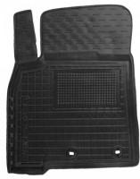 Коврик в салон водительский для Lexus LX 570 '12- резиновый, черный (AVTO-Gumm)