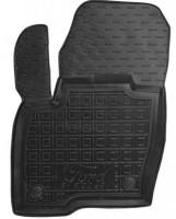 Коврик в салон водительский для Ford Edge '16- резиновый, черный (AVTO-Gumm)