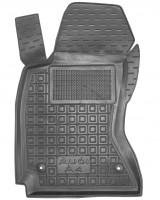 Коврик в салон водительский для Audi A4 '95-99 резиновый, черный (AVTO-Gumm)