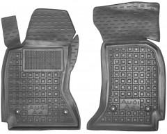Коврики в салон передние для Audi A4 '95-99 резиновые, черные (AVTO-Gumm)