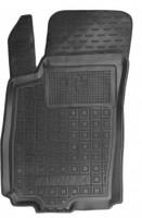 Коврик в салон водительский для Ravon R4 '16- резиновый, черный (AVTO-Gumm)