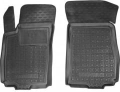 Коврики в салон передние для Ravon R4 '16- резиновые, черные (AVTO-Gumm)