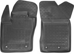 Коврики в салон передние для Jeep Renegade '16- резиновые, черные (AVTO-Gumm)