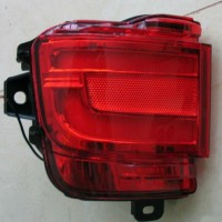 Противотуманные фары для Toyota Land Cruiser 200 '16- LED, задние,  красные, к-кт (Junyan)
