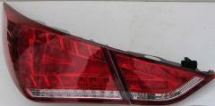 Фонари задние для Hyundai Sonata '10-15 LED, красные, к-кт (Junyan) SON-RED