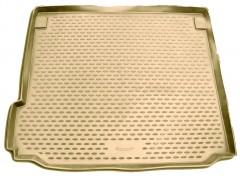Коврик в багажник для BMW X5 E70 '07-13, полиуретановый (Novline / Element) бежевый