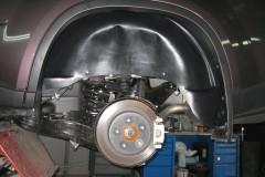 Подкрылок задний левый для Nissan X-Trail '08-10 (Novline)