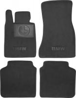Textile-Pro Коврики в салон для BMW 7 G11 '15-, текстильные, черные (Премиум)