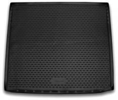 Коврик в багажник для Chevrolet Tahoe '15-, полиуретановый, длинный (Novline / Element) черный