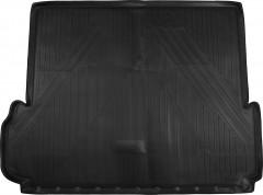 Коврик в багажник для Toyota LC Prado 150 '13- (7 мест, длинный), полиуретановый (Novline / Element) черный