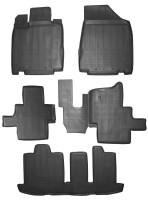 Коврики в салон для Infiniti JX (QX60) '12- полиуретановые, черные (Novline / Element)