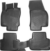 Коврики в салон для Volkswagen Tiguan '16- полиуретановые, черные (Novline/Element)