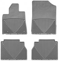 Коврики в салон для Toyota Sequoia '08-12 резиновые, серые (WeatherTech)