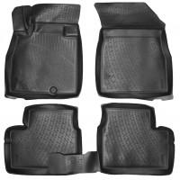 Коврики в салон для Nissan Micra '10-17 полиуретановые (L.Locker)
