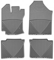 Коврики в салон для Toyota Venza '08-12 резиновые, серые (WeatherTech)