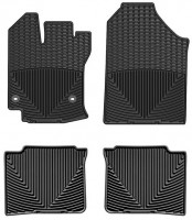 Коврики в салон для Toyota Venza '13-16 резиновые, черные (WeatherTech)