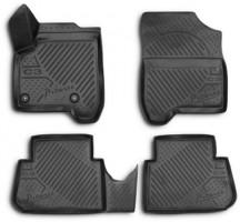 Novline Коврики в салон 3D для Citroen C3 '10- Picasso полиуретановые, черные (Novline)
