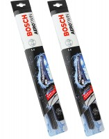 Щетки стеклоочистителя бескаркасные Bosch AeroTwin Plus 600 и 380 мм. (набор)