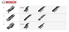 Фото 3 - Щетки стеклоочистителя бескаркасные Bosch AeroTwin Plus 700 и 380 мм. (набор)