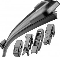 Фото 2 - Щетки стеклоочистителя бескаркасные Bosch AeroTwin Plus 700 и 700 мм. (набор)