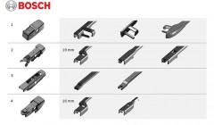 Фото 3 - Щетки стеклоочистителя бескаркасные Bosch AeroTwin Plus 700 и 700 мм. (набор)