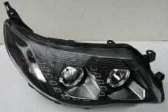 Фары передние для Subaru Forester '08-12, левая и правая, черные (Junyan)
