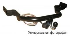 Фаркоп FX несъемный Skoda Octavia A5 '08-13 лифтбек (Полигон-Авто)