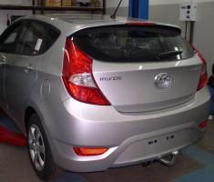 Фаркоп FX несъемный Hyundai Accent '11-17 хэтчбек (Полигон-Авто)