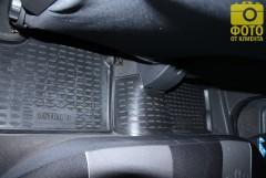 Фото 2 - Коврики в салон для Opel Astra H '04-15, хетчбек, полиуретановые, черные (Novline / Element) EXP.NLC.37.21.210
