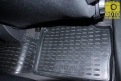Фото 3 - Коврики в салон для Opel Astra H '04-15, хетчбек, полиуретановые, черные (Novline / Element) EXP.NLC.37.21.210
