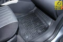 Фото 5 - Коврики в салон для Opel Astra H '04-15, хетчбек, полиуретановые, черные (Novline / Element) EXP.NLC.37.21.210