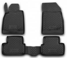 Коврики в салон для Opel Astra J '09-, хетчбек, полиуретановые, черные (Novline / Element) EXP.NLC.37.23.210k