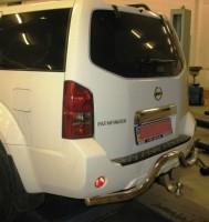 Фаркоп съемный Nissan Pathfinder '10-14 штатн. крепление (Полигон-Авто)