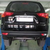 Фаркоп G съемный Mitsubishi Pajero Sport '10-16 (Полигон-Авто)