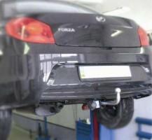 Фаркоп FX несъемный ЗАЗ Forza '11- (Полигон-Авто)