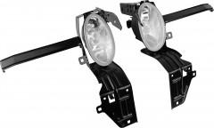 Противотуманные фары для Honda Accord '08- комплект (Dlaa) америк. версия
