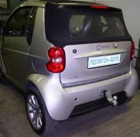 Фаркоп G съемный Mercedes Smart Fortwo '04-07 (Полигон-Авто)