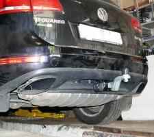Фаркоп G съемный Volkswagen Touareg '10-18 (Полигон-Авто)