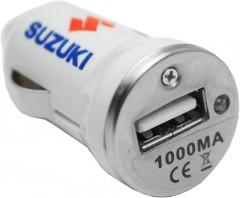 Suzuki Адаптер USB автомобильный Suzuki 5V/1A