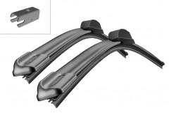Щётки стеклоочистителя бескаркасные Bosch AeroTwin 600 и 500 мм. спец. крепеж (к-кт) A 315 S