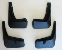 Брызговики для Suzuki Vitara '15-, с логотипом, полный комплект (ASP)