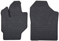 Коврики в салон передние для Toyota Yaris '11- резиновые (Stingray)