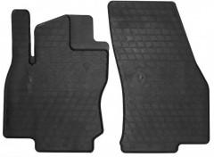 Коврики в салон передние для Audi Q2 '16- резиновые (Stingray)