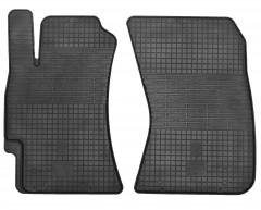 Коврики в салон передние для Subaru Legacy '04-10 резиновые, черные (Stingray)