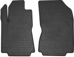 Коврики в салон передние для Citroen C3 '17- резиновые, черные (Stingray)