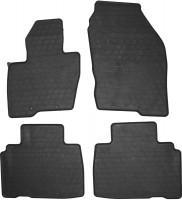 Коврики в салон для Ford Edge'16- резиновые, черные (Stingray)